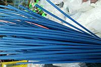 Термоусадочная трубка,размер 1,0/0,5мм,цвет синий,длина 1метр