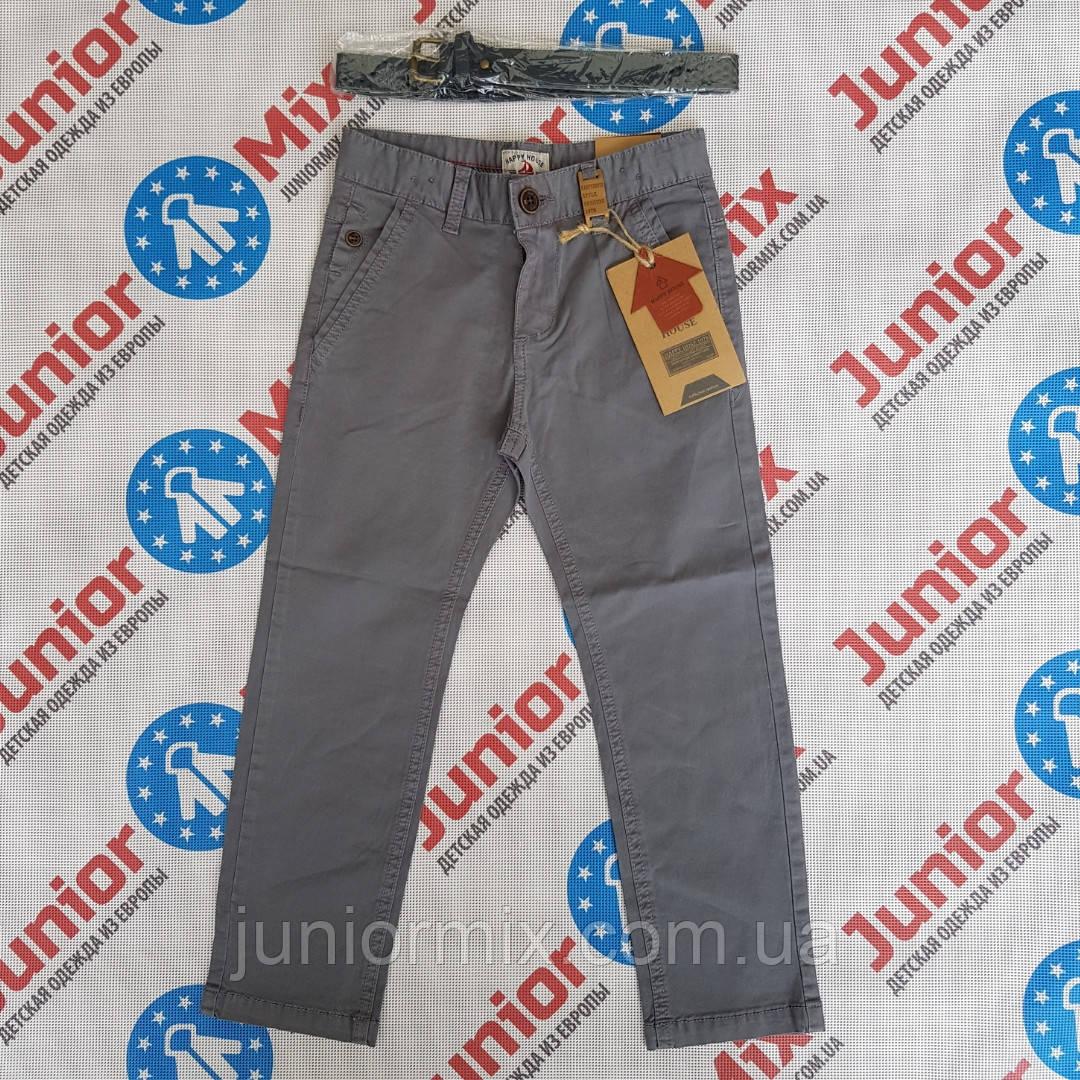 Детские котоновые брюки на мальчика HAPPY HOUSE