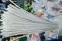 Термоусадочная трубка,размер 1,0/0,5мм,цвет белый,длина 1метр