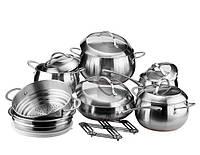 Набор посуды Vinzer Fine Magestic 14 пр. 89035