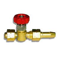 Вентиль горючего газа ГГ/М14/d-6 мм Донмет