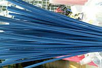 Термоусадочная трубка,размер 1,5/0,75мм,цвет синий,длина 1метр