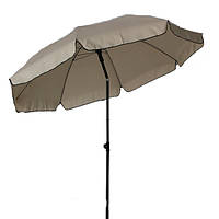 Зонт садовый 3-240 бежевый