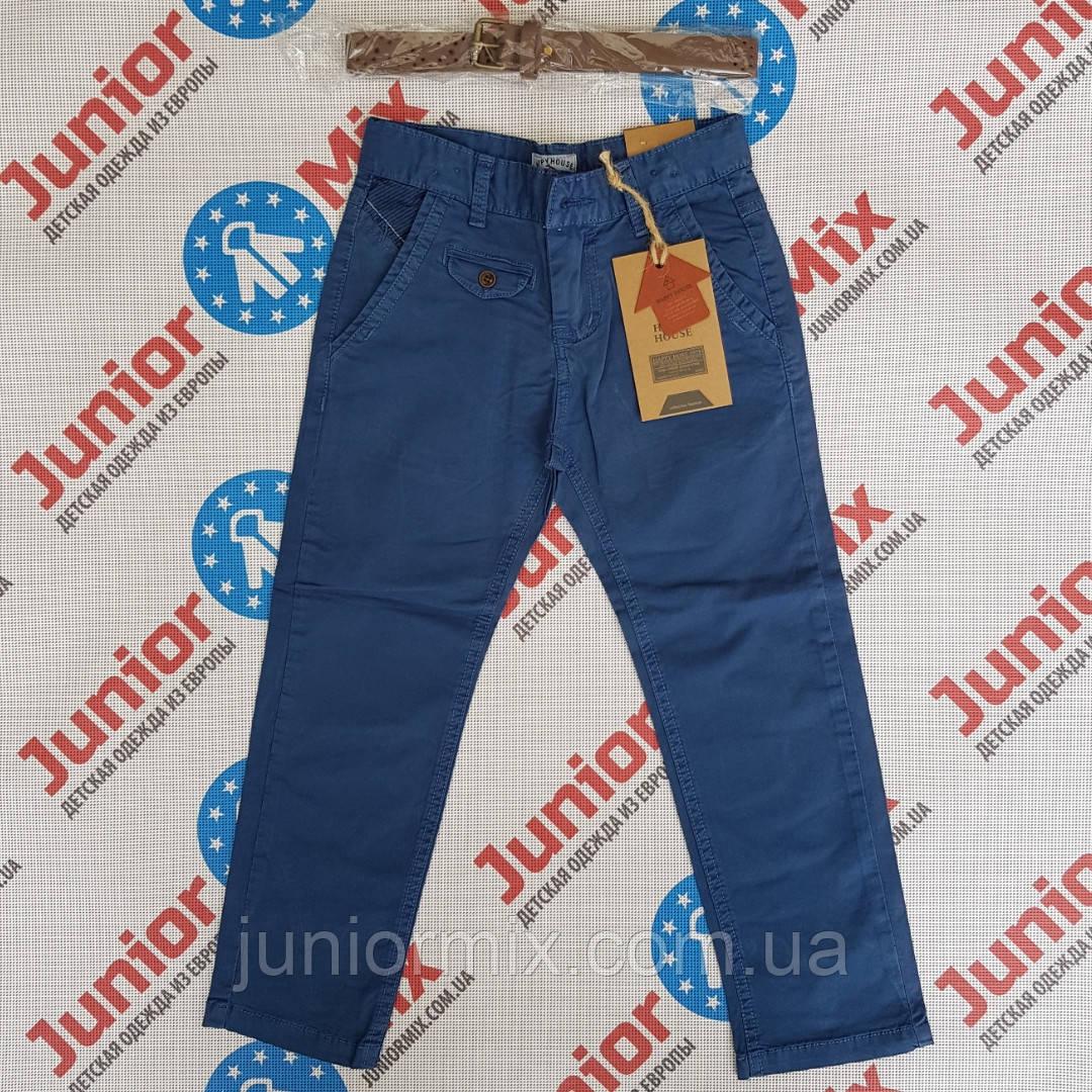 Детские котоновые брюки на мальчика  HAPYY HOUSE