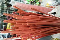 Термоусадочная трубка,размер 1,5/0,75мм,цвет красный,длина 1метр