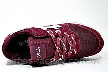Кроссовки женские в стиле Asics Gel Lyte 3, Бордовый, фото 2