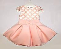 Детское нарядное платье для девочки 1, 2, 3 года Турция подарок для девочки