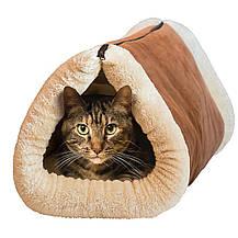 Домик-лежанка для собак и кошек Kitty Shack 2 in 1 Tunnel Bed & Mat, фото 3