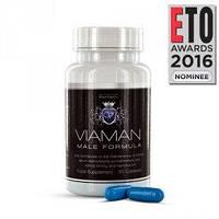 Капсулы для эрекции, потенции + увеличение пениса Viaman 30 Capsules, Великобритания