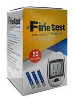 Тест-полоски 50 шт к глюкометру Файн Тест