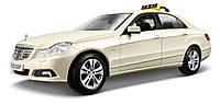 Автомодель 1:18 Mercedes Benz E-ClassGerman Taxi version светло-жёлтый MAISTO (36191 lt. yellow)