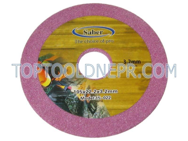 Диск для заточки цепи 105х22х3,2 Saber