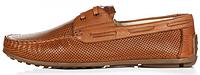 Мужские кожаные мокасины Geronimo коричневые
