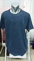 Большой размер, футболка TOMMY HILFIGER.Синяя.