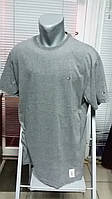 Батальная футболка TOMMY HILFIGER.Серая.