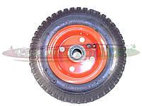 Колесо на садово-строительную тачку 2.50-4 на промподшипнике (20мм)