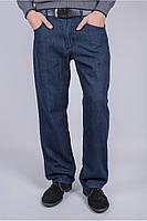 Классические джинсы чернильного цвета
