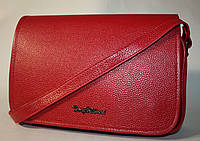 Женская сумочка клатч Tony Bellucci красная натуральная кожа