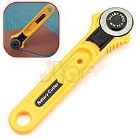 Нож для кожи дисковый диаметр 28 мм дисковый раскройный нож