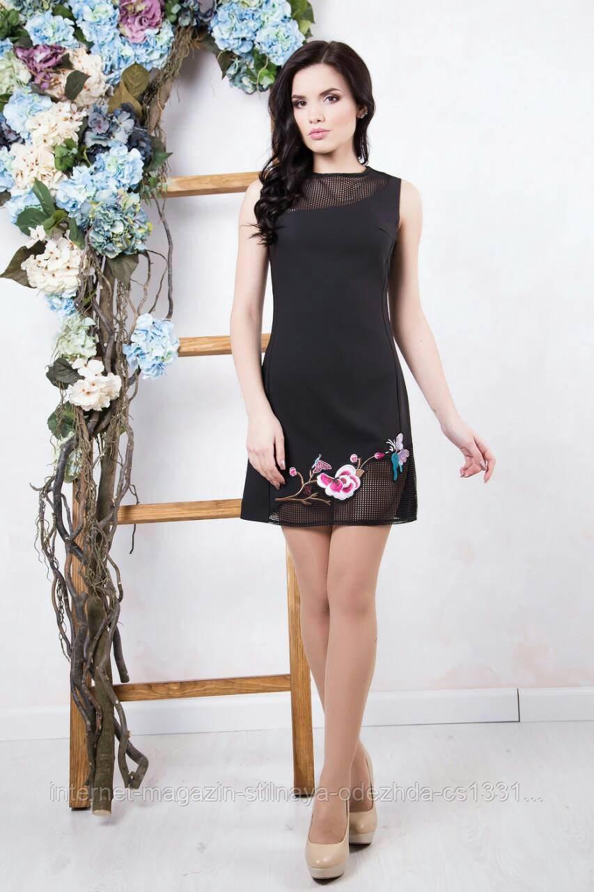 Платье Флория / черный