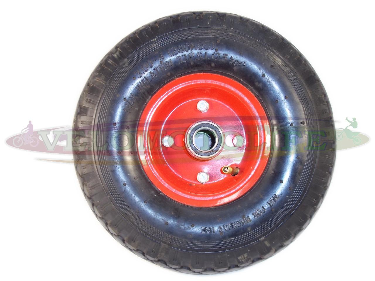 Колесо для тачки 3.00-4 (20мм)