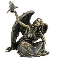 Коллекционная статуэтка Veronese Ангел с голубем WU75981A4