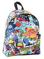 Подростковый легкий рюкзак 1 Вересня YES 553977 ST-15 Crazy 18