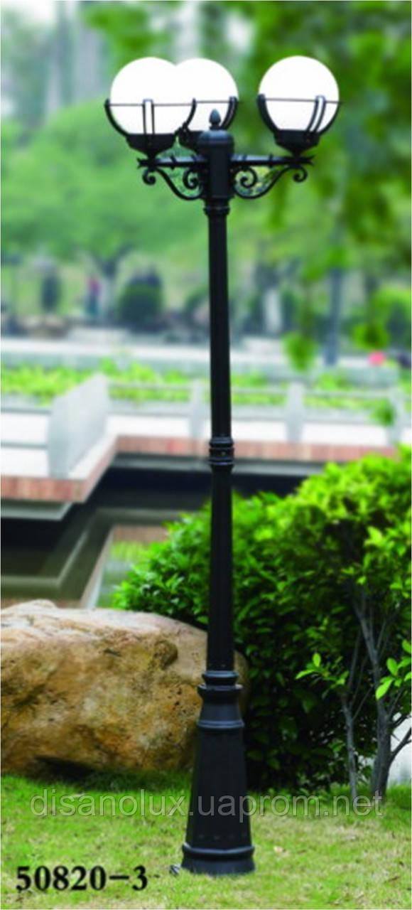 Светильник парковый столб  50820-3   Е27  IP 44