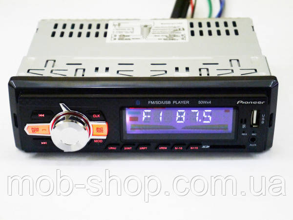 Автомагнитола Pioneer 6085 Bluetooth+MP3+FM+USB+SD+AUX