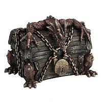 Коллекционная шкатулка Veronese Дракон, охраняющий сокровища WU76983A4