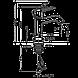 Змішувач для раковини Hansgrohe Metris Classic 31075000 хром, фото 2