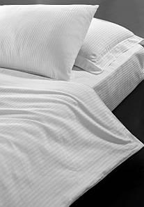 Постельное белье для гостиниц Lotus сатин страйп 1х1 King Size (Турция)