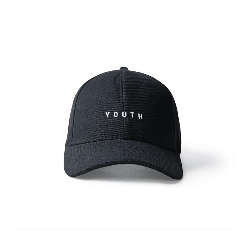 Черная кепка бейсболка Youth