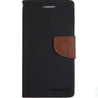 Xiaomi Mi4c / Mi4i Чехол-книжка Book Cover Goospery Black (застежка; карман для пластиковых карт, функция подс