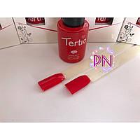 Гель-лак Tertio #005 Классический красный, без блесток и перламутра. 10 мл.