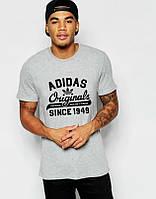 Мужская футболка Adidas Originals серая