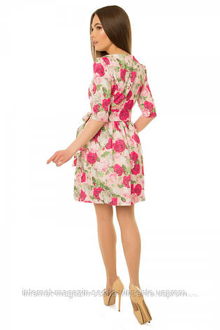 Платье женское с пышной юбкой S-М размеры SV 17-24-15r, фото 2