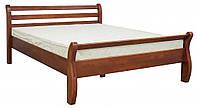 Кровать деревянная Афина орех 160