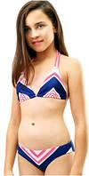 Яркий детский купальник Keyzi на рост 152-164 модель Margarita