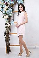 Платье Дели / пудра