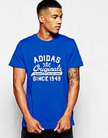 Мужская футболка Adidas Originals синяя