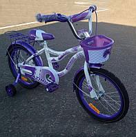 """Детский велосипед для девочки Azimut Kiddy 16"""""""