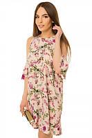 Платье женское рукав-волан S-L размеры SV  17-18-15с