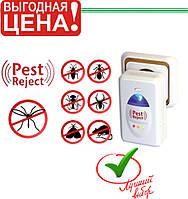 Ультразвуковой электромагнитный отпугиватель насекомых и грызунов Pest Reject, фото 1
