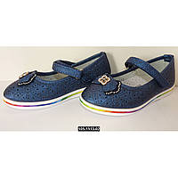 Нарядные, туфли для девочки, 26-30 размер, кожаная стелька, супинатор, праздничные туфельки на выпускной