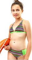 Яркий детский купальник Keyzi на рост 152-164 модель Roxana