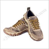 Кроссовки тактические летние, обувь для военных, кожа койот атакс