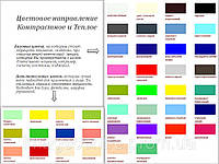 Определения цветотипа, рекомендации по выбору и сочетанию цветов одежды