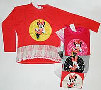 Детский свитшот для девочки 4-9 лет