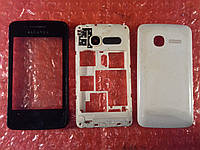 Alcatel One Touch 4007D корпус с сенсором ОРИГИНАЛ Б/У